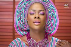 Yoruba brides sure know how to turn heads on their big day! Move away from classic maritime lines in favour of a colorful alternative this season – the statement stripe. Corporate Fashion, Before Wedding, Absolutely Stunning, Beautiful, African Fashion, Asos, Like You, Hair Styles, How To Wear