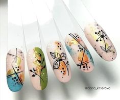 Pretty Nail Art, Beautiful Nail Art, Gorgeous Nails, Nail Art Designs Videos, Fall Nail Art Designs, Autumn Nails, Spring Nails, Winter Nails, Stylish Nails