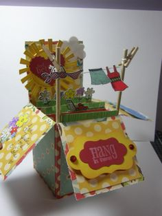 Pop Up Box Card by meljustcole - Cards and Paper Crafts at Splitcoaststampers