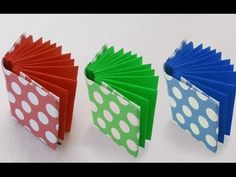 DIY Project Ideas : How to Make a Mini Origami Book | Kids Crafts Simple Origami - YouTube