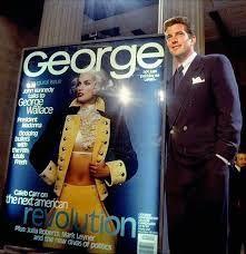 "JFK jr unveils his new magazine, ""George"""