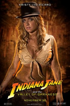 Indiana Jones female cosplay by Jeff Zoet