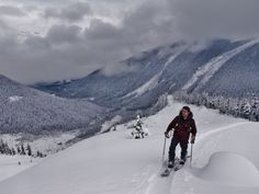 Long weekend flashback- Our Recruitment Solutions Partner, Joel, splitboarding north of Pemberton, BC.
