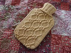 Ravelry: free knitting Haworth pattern by Julie Zaichuk-Ryan - Cozy → Hot Water Bottle