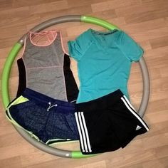 Let's get sporty with us ;) #sportswear #humanadresden #adidas #Reebok #sport #running #humana_second_hand_germany #blue #black #threestripes #love #tops  #fashion
