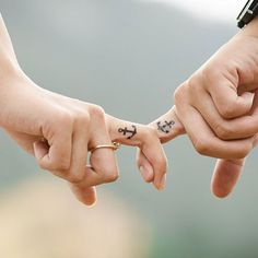 15 couple tattoo ideas that are cooler than a wedding ring.