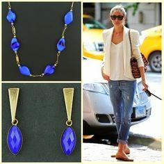 CKD PEDRAS E FOLHEADOS: Tudo azul neste lindo dia com acessórios de Murano...