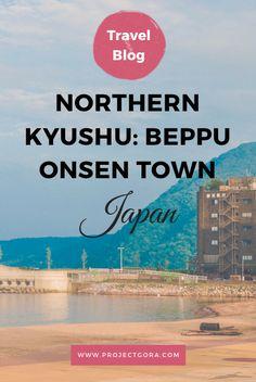The onsen city of Beppu in Kyushu, Japan.