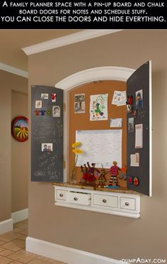 What a great use of space.  Build the drawers inside the wall studs.                  Find this at DIYncrafts.com