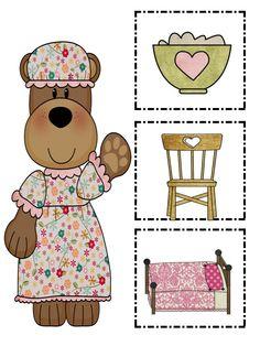 Classroom Freebies Too: Goldilocks and the Three Bears Word Wall game. Kindergarten Language Arts, Kindergarten Themes, Classroom Freebies, Preschool Games, Preschool Ideas, Activities, Fairy Tales Unit, Wall Game, Goldilocks And The Three Bears