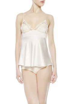 Damenunterwäsche Damenmode New Sonnig Babydoll Sexy Nightie Chemise Nightdress Cream Size 6-8