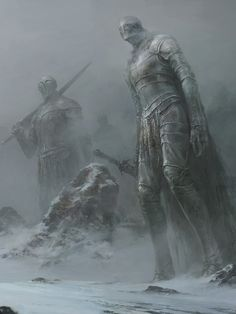 Fantasy Art Watch — Snow by Xiaodi Jin
