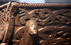 Viking Museum cart detail