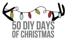 50 DIY Days of Christmas - follow along to discover tons of easy DIY crafts and gifts for the holidays!  // thepapermama.com