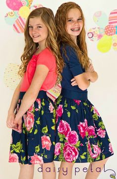 Tween Skirts and Shirts from Daisy Petal Girls by. MODEST & CUTE a must for Sadie & Emma