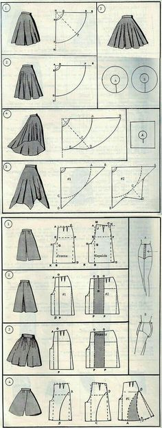 Terrific No Cost Sewing patterns clothes Thoughts 37 СПОСОБОВ СШИТЬ ЮБКУ Portfolio Mode, Fashion Portfolio, Portfolio Ideas, Portfolio Design, Diy Clothing, Sewing Clothes, Sewing Pants, Skirt Sewing, Sewing Aprons