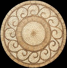 Mosaic Patterns For Table Tops Mosaic table top wave patterns ...