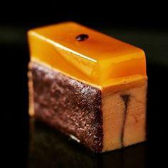 Foie gras and passion fruit