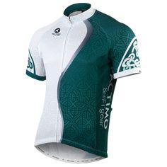 Designer Cycling Jersey - Celtic Green - Men's $95.00