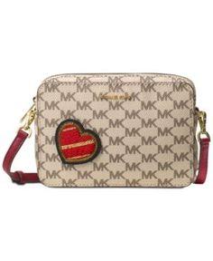 Michael Michael Kors 1 Pt Pouch Medium Camera Bag  - Tan/Beige