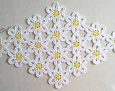 Irish Crochet, Free Crochet, Crochet Designs, Crochet Patterns, Paper Crafts, Diy Crafts, Doilies, Diy Tutorial, Crochet Necklace