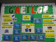 My Gaeilge Board- An Teilfís To help my class learn the names of the different television programmes. I had them draw them out on. Classroom Layout, Classroom Organisation, Classroom Ideas, Class Displays, Classroom Displays, Primary Teaching, Primary School, Art School, School Stuff