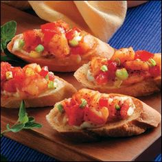 #Caribbean Style #Shrimp Bruschetta #Recipe.  Thanks to Julian and Tracy at The Gallipot Restaurant on #Nevis. for this recipe