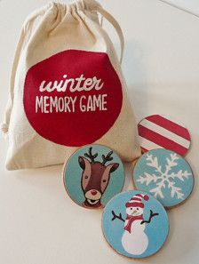 Games & Puzzles in Toys - Etsy Kids - Page 4 memory di Natale