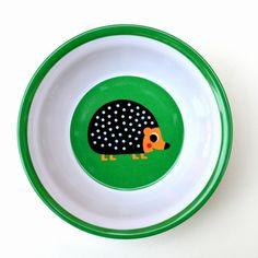 #Bowl #Hedgehog by #Ingela egel bowl melamine from www.kidsdinge.com    www.facebook.com/pages/kidsdingecom-Origineel-speelgoed-hebbedingen-voor-hippe-kids/160122710686387?sk=wall         http://instagram.com/kidsdinge #Kidsdinge #Toys #Speelgoed