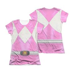 (affiliate link) Mighty Morphin Power Rangers Pink Ranger Juniors T-Shirt