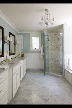 Duck egg blue bathroom on pinterest tiffany blue for Duck egg blue bathroom ideas