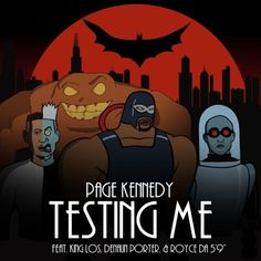 """Actor and rapper Page Kennedy puts together a ridiculous lineup consisting of King Los, Denaun Porter and Royce Da 5'9 on his new track """"Testing Me"""" off the upcoming Torn Pages album.  Nah Right"""