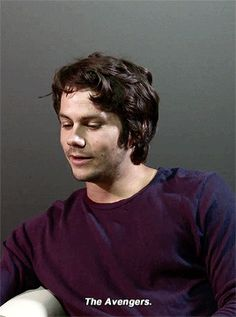 Dylan O´Brien gif - a movie that everyone has seen but you?..how come??!