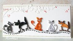 quilling cats