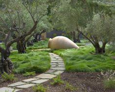 paysage de jardin original