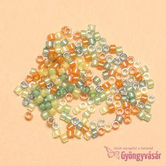 - Citrus luminous vegyes japán Miyuki delica gyöngy, g) Japan, Japanese