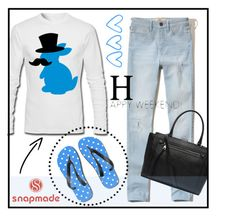 """""""Bunny by Snapmade"""" by youaresofashion ❤ liked on Polyvore featuring Hollister Co. and Witchery"""