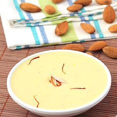 Badam Kheer (Almond Pudding)