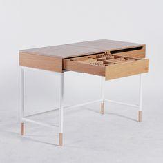 W1 vanity table by Ukrainian design bureau ODESD2. Designer: Karina Madzari.