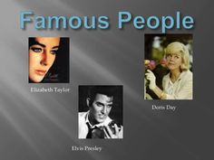 1950'S FAMOUS PEOPLE