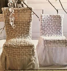 Fundas stretch para sillas de Cote Sud. #design #interiordesign #loveartandesign…