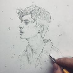 Vonn Sketch 12.10.15 - Troye by Tvonn9.deviantart.com on @DeviantArt
