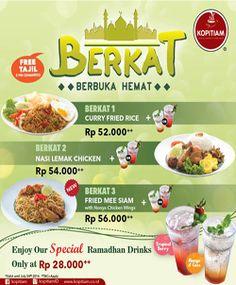 Kopitiam Promo Buka Puasa http://www.perutgendut.com/read/kopitiam-promo-buka-puasa/1844 #Promo #Food #Kuliner #Indonesia