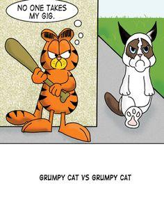 lol grumpy cat cartoon LMAO   Funny Cartoon Joke!!