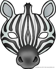 zebra face mask with folding parts Printable Halloween Masks, Halloween Templates, Printable Masks, Free Printables, Animal Mask Templates, Zebra Mask, Paper Mask, Felt Mask, Safari Party