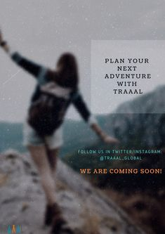 Plan Your Next Adventure With #Traaal (^_^)  We are Coming Soon \m/   #FollowUs to get updated (^_^)   #travel #travelphotography #traveling #startups #nature #adventures #trips #socialmedia #business #photo #onlinetravelagency #online #digital #saveyourtime #life #vacations #tours #ilovetravel #ilovetravelling #tourists #memories #moments #whatisnext #comingsoon