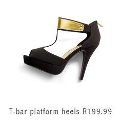 Love it or loathe it? #Gold #Heels #Fashion