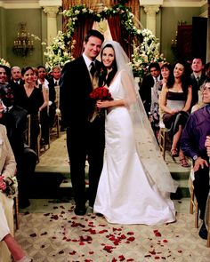 Chandler Bing & Monica Gellar (Friends)