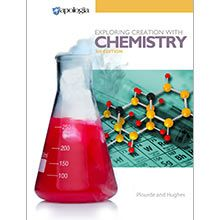 Our award-winning high school chemistry course is now better than ever! Exploring Creation with Chemistry, 3rd Edition provides a rigorous foundation in chemistry in order to prepare your student for college-level studies. -For more info, see http://shop.apologia.com/6-chemistry