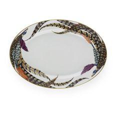 Carolyn Medium Platter - China - Tabletop / Accents - Products - Ralph Lauren Home - RalphLaurenHome.com